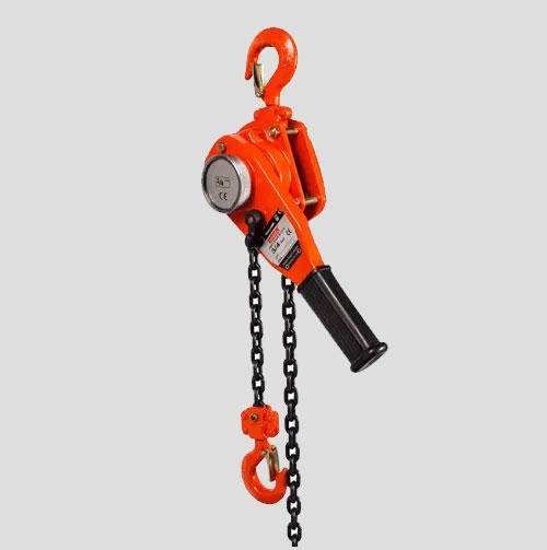 Durable Powder Coat Finish Chain Lever Hoist Manual Lever Block
