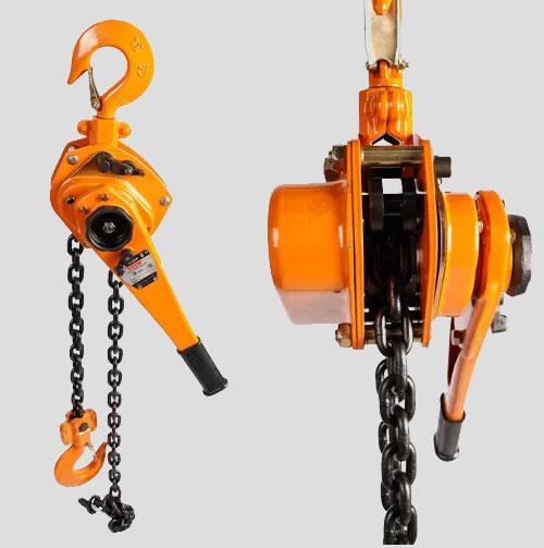 3 Ton Steel Chain Lever Hoist / Ratchet Lever Block Standard Lif