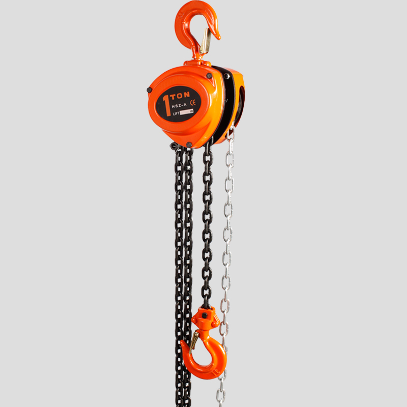 Light Weight Manual Chain Block Hoist , Construction Material Li