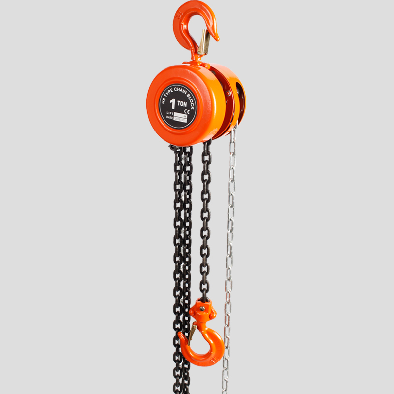 30 Ton Manual Chain Block Light - Weight Steel Body